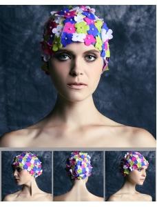 花びら スイムキャップ 水泳帽 水着付属品 海 プール bna0011-2