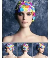 花びら スイムキャップ 水泳帽 水着付属品 海 プール bna0011-3
