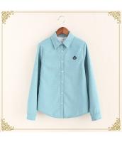 シャツ 柄物 長袖 暖い 厚い 刺繍 裏起毛 プリント hs3420-2
