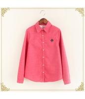 シャツ 柄物 長袖 暖い 厚い 刺繍 裏起毛 プリント hs3420-3