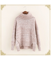 ニット・セーター 長袖 裾·ベンツ 学生 暖い タートル hs3515-1