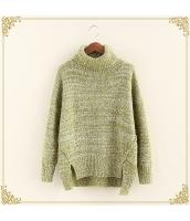 ニット・セーター 長袖 裾·ベンツ 学生 暖い タートル hs3515-2