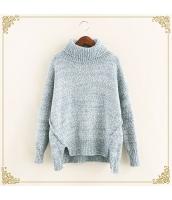 ニット・セーター 長袖 裾·ベンツ 学生 暖い タートル hs3515-3