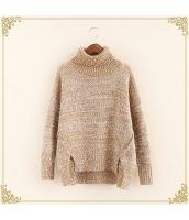 ニット・セーター 長袖 裾·ベンツ 学生 暖い タートル hs3515-4