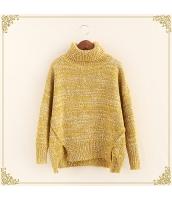 ニット・セーター 長袖 裾·ベンツ 学生 暖い タートル hs3515-5