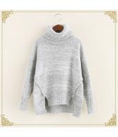 ニット・セーター 長袖 裾·ベンツ 学生 暖い タートル hs3515-6