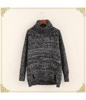 ニット・セーター 長袖 裾·ベンツ 学生 暖い タートル hs3515-7
