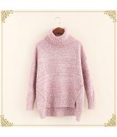 ニット・セーター 長袖 裾·ベンツ 学生 暖い タートル hs3515-8