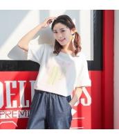 Tシャツ 半袖・五分袖 丸首 サボテンプリント hs3887-3