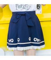 スカート Aラインスカート 無地 リボン タイト hs3909-1