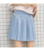 スカート ボーダー 無地 ゴム入りのウエスト Aラインスカート hs3941-1