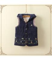 ベスト・ジレ/中綿/厚い/カートン/刺繍/帽子付き jf1321-2