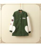 コート/ダッフルコート/刺繍/ミディアム jf1334-1