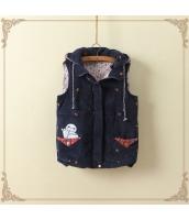 ベスト・ジレ/中綿/暖い/刺繍/カートン/コーデュロイ jf1356-2