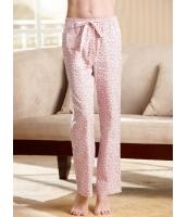ガーベラインナー ルームウエア 純綿100% パジャマ用パンツ mb10215-1