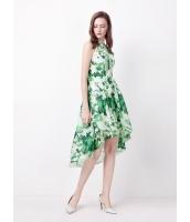 ガーベラレディース ファッション セクシー ロマンチック プリント マーメイドライン ワンピース  mb10486-1