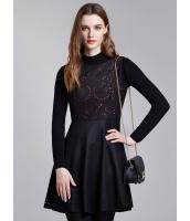 ガーベラレディース ファッション ロマンチック 着やせ Aライン 復古 ウール 袖なし ワンピース  mb10612-1