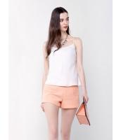 ガーベラレディース ファッション 着やせ ベーシック コーデアイテム 純色 シフォン キャミソール mb10947-3
