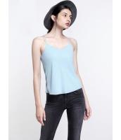 ガーベラレディース エレガント ファッション ストレート ゆったり ダブルストラップ コーデアイテム キャミソール mb11003-3