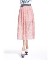 ガーベラレディース 欧米風 ファッション レース ギャザースカート mb11116-2