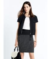 ガーベラレディース エレガント ファッション 裾 紐調節 半袖 ファスナー 涼しい カーディガン mb11172-1
