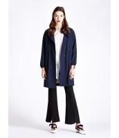 ガーベラレディース ファッション エレガント OL ゆったり 大きいポケット 後ウエスト紐調節 コート アウター mb11181-1