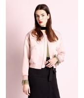 ガーベラレディース ファッション カジュアル 大きい飾りポケット スタジャン風 ドロップショルダー 長袖 ジャケット mb11183-1