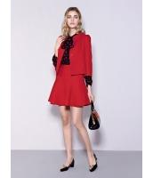 ガーベラレディース ファッション スタンドカラー 七分袖 ワイド袖 ショート丈 ジャケット mb11202-1