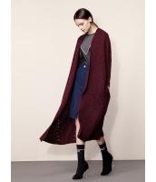 ガーベラレディース ファッション シンプル コーデアイテム ゆったり ロング丈 カーディガン mb11296-1