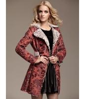 ガーベラレディース ファッション ヒョウ柄 着やせ アウター トレンチコート ショートコート mb11366-2