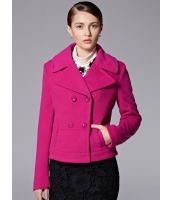 ガーベラレディース ファッション コーデアイテム ショート丈 ダブルボタン フリースジャケット テーラードジャケット mb11367-1