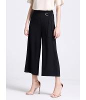 ガーベラレディース シンプル ファッション 不規則 八分丈 ワイドパンツ mb11423-2