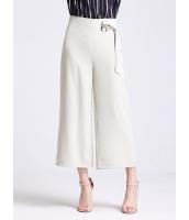 ガーベラレディース シンプル ファッション 不規則 八分丈 ワイドパンツ mb11423-3