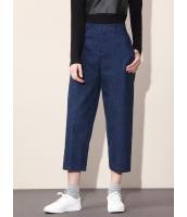 ガーベラレディース カジュアル ファッション コーデアイテム 八分丈 デニム ジーンズ mb11545-1