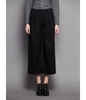 ガーベラレディース シンプル ファッション コーデアイテム 八分丈 ワイドパンツ mb11546-1