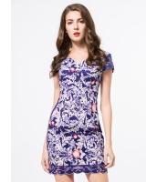 ガーベラレディース ファッション ニューバージョン 刺繡入り 着やせ ワンピース mb11735-2