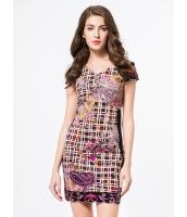 ガーベラレディース ファッション ニューバージョン 刺繡入り 着やせ ワンピース mb11735-3