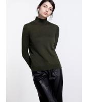 ガーベラレディース ファッション ベーシック タートルネック 着やせ セーター mb11921-1