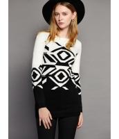 ガーベラレディース ファッション おおらか 丸首 長袖 ニットウェア セーター mb11952-1