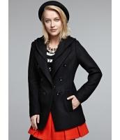 ガーベラレディース エレガント ファッション ウエスト引き締め 着やせ ニット帽子 ウール ピーコート mb11972-1