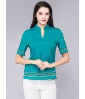 ガーベラレディース Tシャツ ゆったり 着やせ コーデアイテム 純色 ショート丈 半袖 mb11979-1
