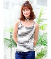 ガーベラレディース 韓国風 ファッション 精緻 シンプル コーデアイテム ボートネック タンクトップ mb11993-3