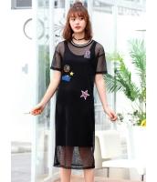 ガーベラレディース 韓国風 ファッション 精緻 タンクトップワンピース 2点セット mb12043-1