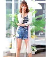 ガーベラレディース 韓国風 ファッション 側面スリット ロング丈 カーディガン mb12050-2