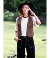 ガーベラレディース 韓国風 レトロ ファッション 個性派 ベスト mb12172-1