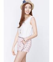 ガーベラレディース 韓国風 カジュアル コーデアイテム ファッション リラックス 袖なし ブラウス mb12231-2