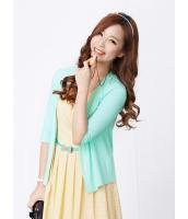 ガーベラレディース 韓国風 コーデアイテム カジュアル ファッション 清楚 肌に優しい綿質 七分丈袖 カーディガン mb12263-1