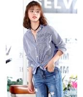 ガーベラレディース 韓国風 ファッション ゆったり 長袖 シャツ mb12278-1