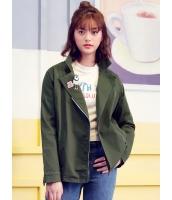 ガーベラレディース 韓国風 ファッション ステンカラー ジャケット mb12288-1