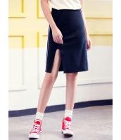 ガーベラレディース 韓国風 ファッション コーデアイテム スリット入り タイトスカート ひざ丈スカート mb12290-2